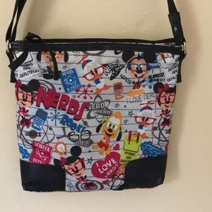 Disney Parks I Love Nerds small purse